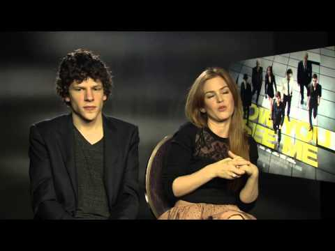 Isla Fisher and Jesse Eisenberg Interview — Now You See Me