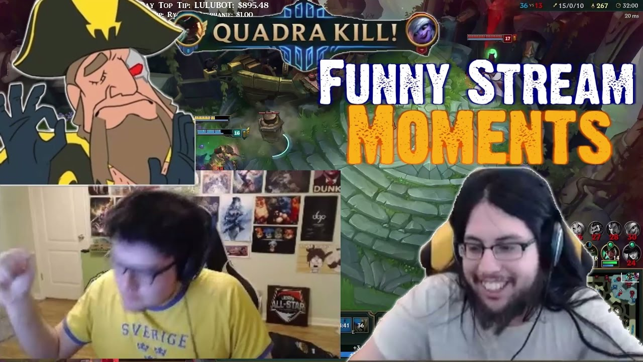 Dyrus is REALLY ANGRY | Tobias Fate - FOUNTAIN DIVE FOR PENTAKILL | Imaqtpie | Funny Stream Moments