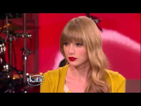Taylor Swift on Katie The First Half -- Katie Couric