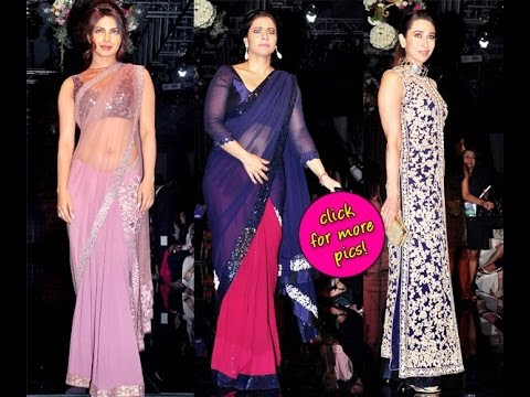 Priyanka Chopra, Kajol, Karishma Kapoor Attend The Closing Of Lakme Fashion Week- Review video
