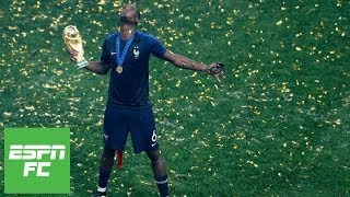 After winning World Cup, France's Paul Pogba 'can be the world's best player' | ESPN FC
