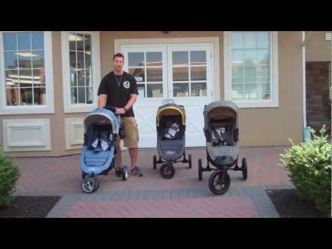 Baby Jogger City Mini, City Mini GT and City Elite Comparisons
