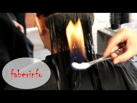 Пирофорез: огненный уход за волосами