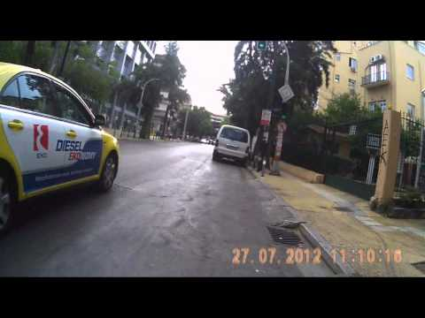 Cycling in Athens (random) - 20 mins of horror - vol.1