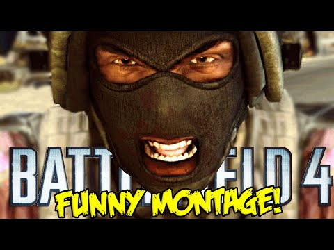 Battlefield 4 Funny Montage! AZZY RAGE, Ghost Soldier & More RAGE (BF4 Funny Moments)