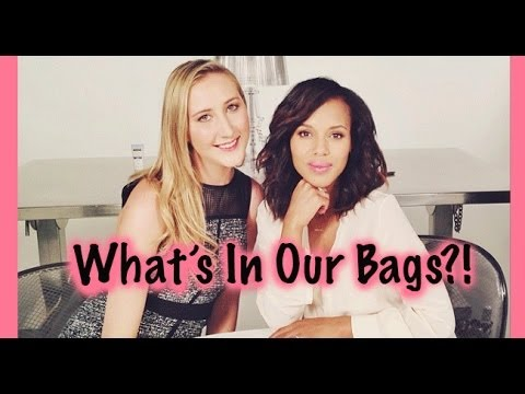 What's In Our Bags?! With Kerry Washington