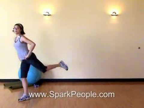 From http://www.sparkpeople.com, a 6-minute lower body exercise routine with our own Coach Nicole! T