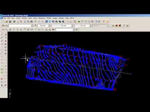 Topografía - curvas de nivel y perfiles longitudinal y transversales con computador
