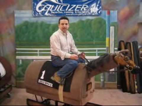 """Jockey Lesson with Frankie Lovato """"Balance & Position"""" For Race Riding"""