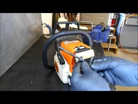 Replacing a Fuel Line on a Stihl MS210.230 and 250 Chain Saw