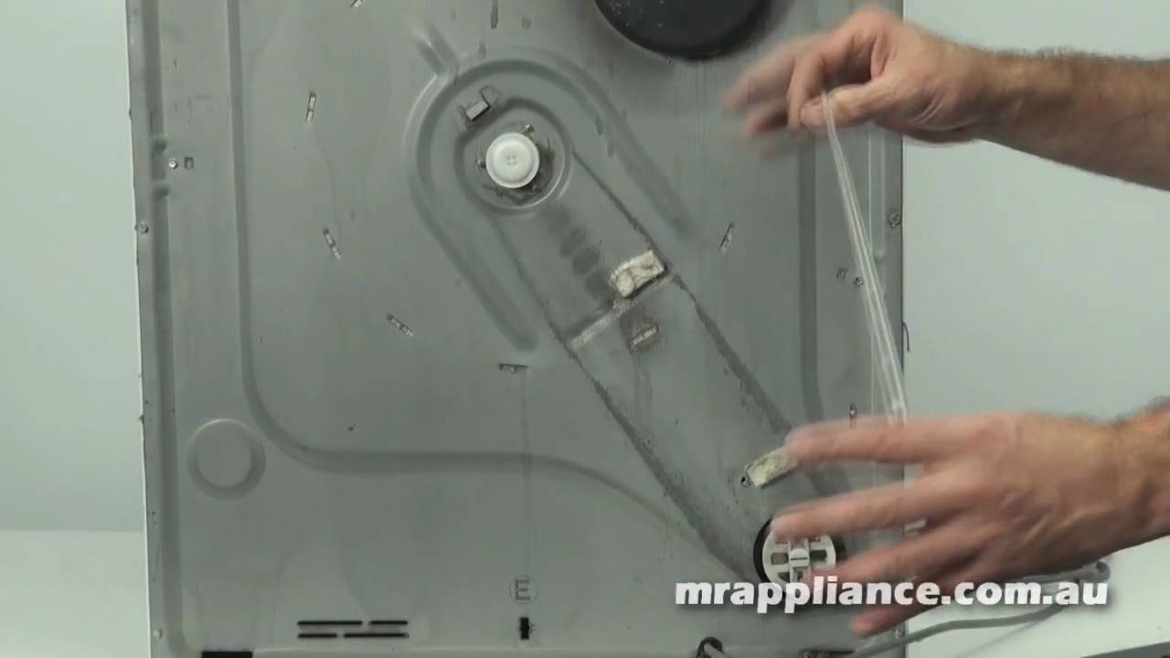 How To Fit A Replacement Clothes Dryer Belt Blower Part