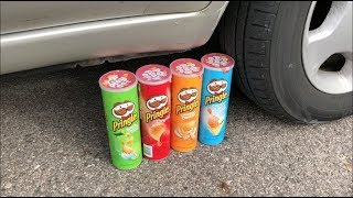 EXPERIMENT CAR VS PRINGLES