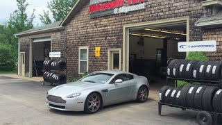 1,600 Miles to Maine in a Used Aston Martin!