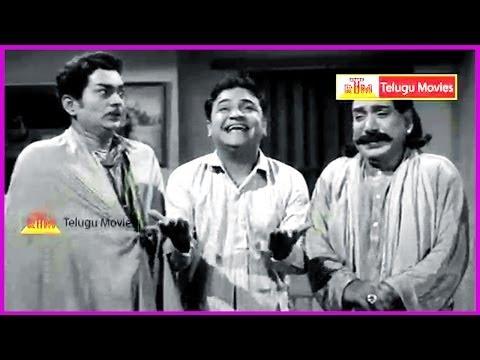 Ramu Telugu Movie Comedy Scene - Ntr And Jamuna,pushpalatha video