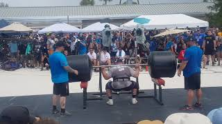 MARTINS WINS THE SQUATLIFT, LEADING THE FINALS WITH 1POINT