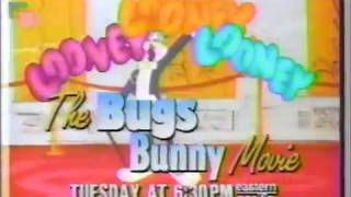 Looney Looney Looney : The Bugs Bunny Movie - Trailer Commercial - Disney Channel (1991)