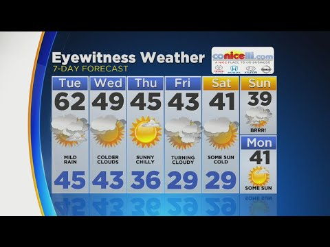 Warm Temperatures Ahead Of Cold Front