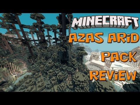 Minecraft - Azas Arid Texture Pack Review [HD]