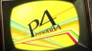 Shin Megami Tensei: Persona 4 - English Opening Intro (HQ)