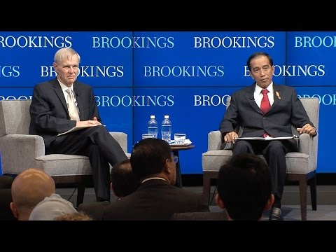 A conversation with President Joko Widodo of Indonesia