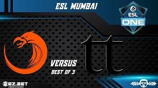TNC Predator vs Team Team | ESL Mumbai | Best of 3 | Lower Bracket