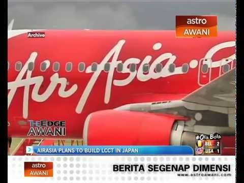 AirAsia plans to build LCCT in Japan