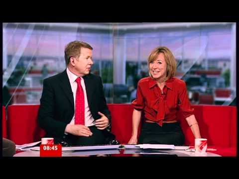 Sian Williams - A hint of stocking