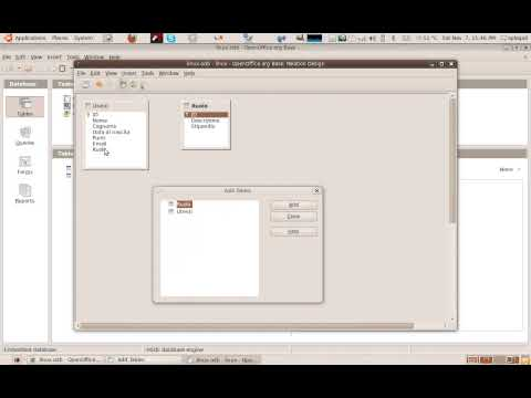 tutorial OpenOffice Base Parte1