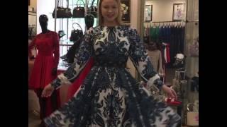 Платье в Русском стиле. Примерки в Модном Доме August van der Walz. Видеоотзыв
