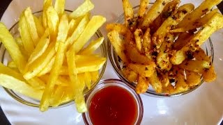 French Fries Recipe|How to Make Masala & Plane French Fry at Home|French Fries Recipe In Hindi