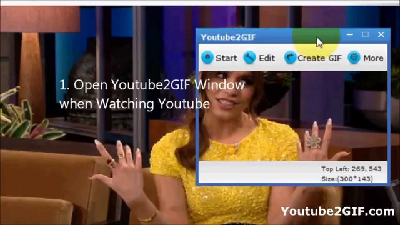 how to create a gif from a youtube video