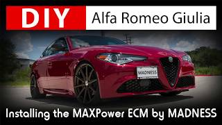 DIY Alfa Romeo Giulia: Installing the MAXPower ECM