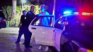 I Got Arrested..