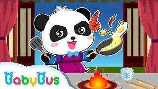 Panda Chef: Make Chinese Recipes | Kids Chef Gameplay Videos | BabyBus Game