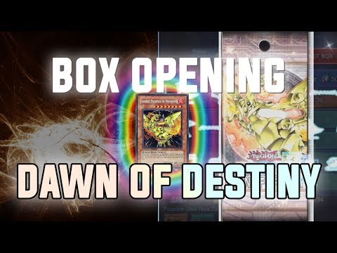 [Yu-Gi-Oh! Duel Links] Dawn of Destiny BOX Opening & Gameplay | 6500+ Gems