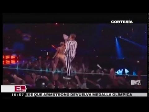 Baile erótico en MTV expulsa a Miley Cyrus de la revista Vogue/ Función con Joanna Vegabiestro