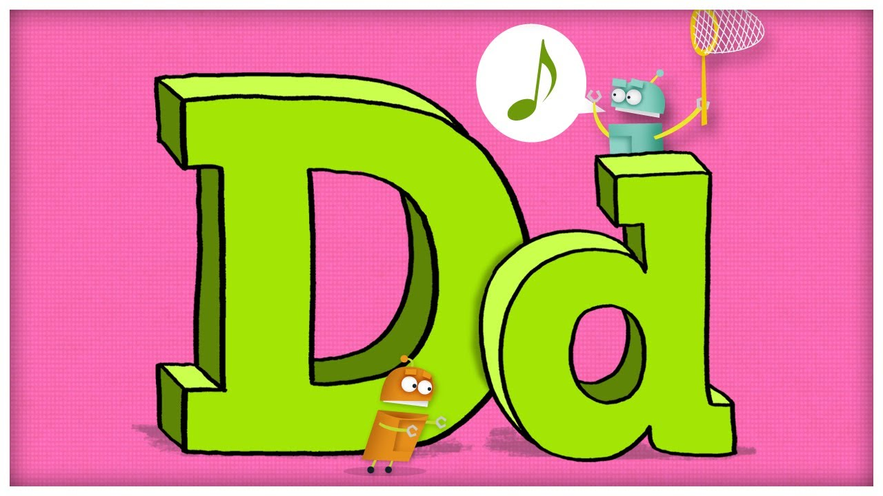Abc Song The Letter D Quot Dee Doodley Do Quot By Storybots