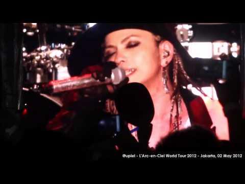 [HD] L'Arc~en~Ciel - Hitomi No Juunin (Live In Jakarta)