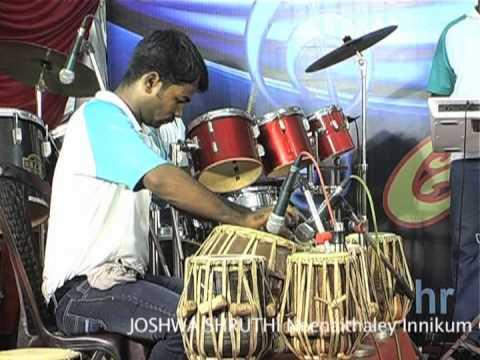 Joshwa Shruthi Instrumental Kanmaniye Kadhal Enbathu video