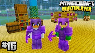 BUILDING A SHOP in Minecraft Multiplayer Survival! (Episode 15)