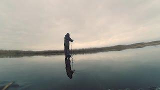 Зимняя рыбалка. Ловля окуня. На балансир и на мормышку. Подводная съёмка. Экшен камера под водой.