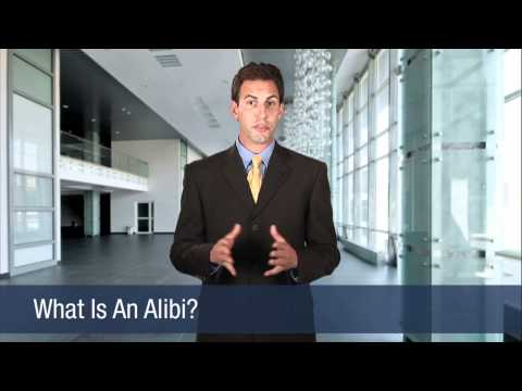 What Is An Alibi?