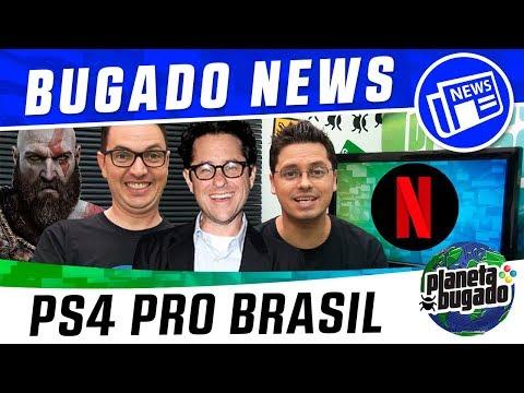📺 Edição Especial de God of War, Ps4 Pro no Brasil, JJ Abrams e mais... thumbnail