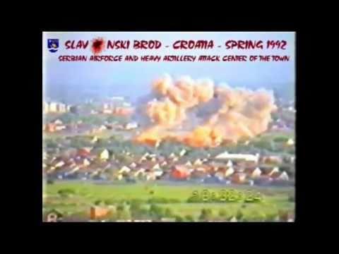 Napad na Slavonski Brod, masakr nad djecom