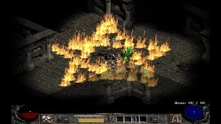 Diablo II: Exploring Dungeons, 03 (Hell difficulty, Barbarian 68 lvl) Blizzard Entertainment, 2000