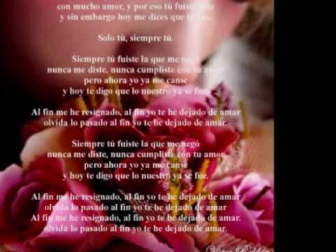 Como una flor (Victor Roldan)