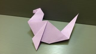 Daily Origami: 116 - Seal