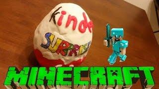 Kinder Surprise Huevo Con Minecraft!