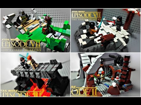 All My LEGO Star Wars MOC Reviews & More!!!