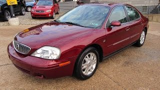 2005 Mercury Sable LS Loaded Elite Auto Outlet Bridgeport Ohio